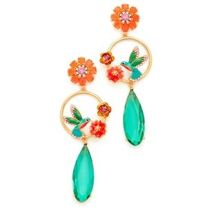 Kate Spade Scenic Route Hummingbird Drop Earrings
